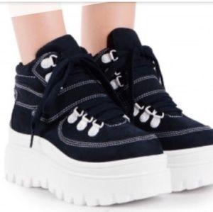 NWOT Platform sneakers